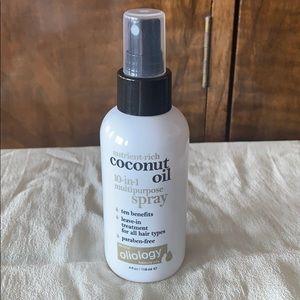 Oliology coconut oil 10-in-1 multipurpose spray